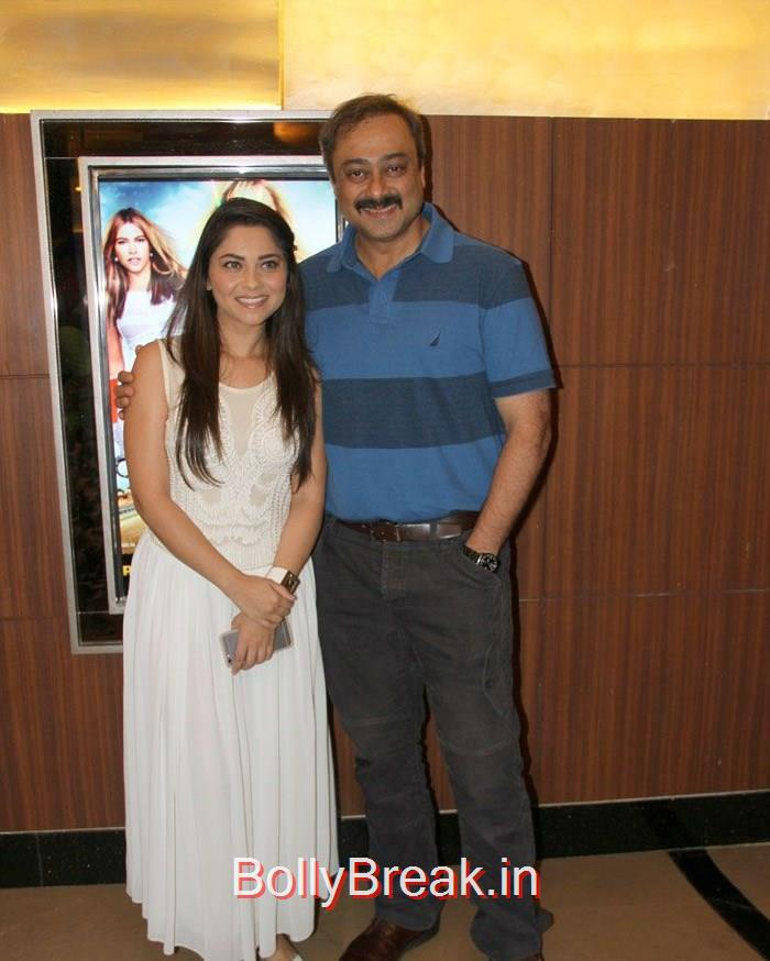 Sonalee Kulkarni, Sachin Khedekar, Celebs at 'Coffee Ani Barach Kahi' Premiere Photo Gallery
