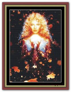"""The Sorceress"" Witchykitt Designs"