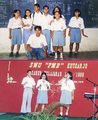 Fenomena Gaya Siswa-Siswi Anak Sekolah - Seragam SMA Era 90-an Wajib Rapi
