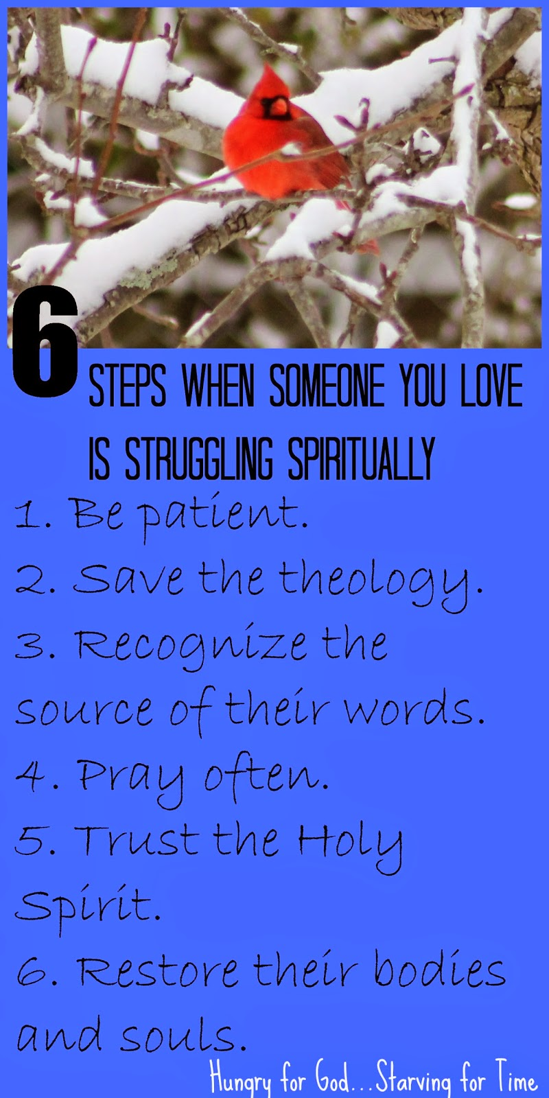 Hungry for God: When Someone You Love Is Struggling Spiritually