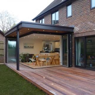 Planejando e projetando uma extensão de casa