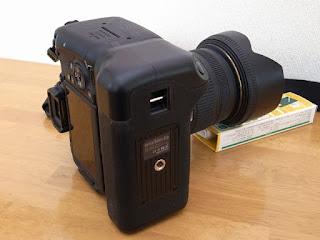 FOSITAN BG-1X 垂直バッテリーグリップ + Canon EOS 9000D ストラップマウント