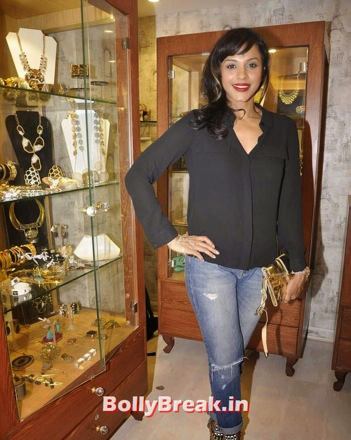 Mansi Scott, Pics from Bansri Mehta Jewellery Lounge Preview