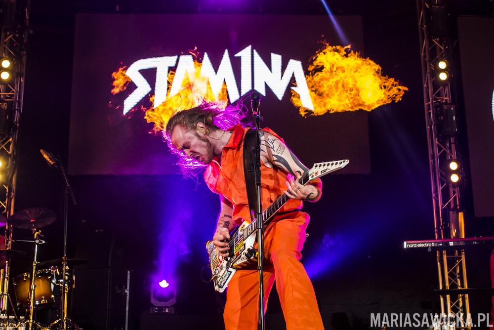 Antti Hyrde Hyyrynen Sakara Tour 2016 Espoo esp guitars fire pyro