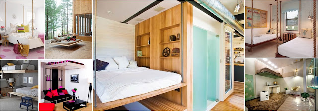 20 Suspended Bed Design Ideas