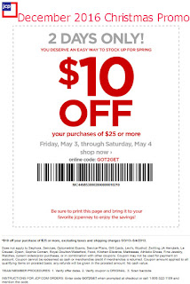 JcPenney coupons december