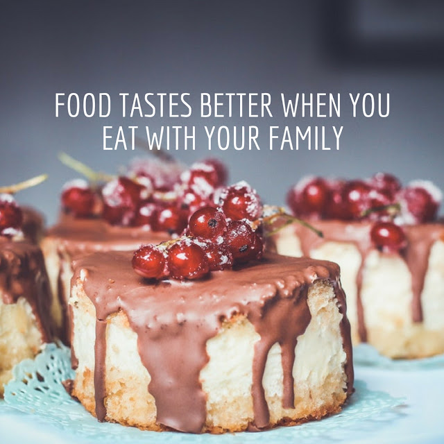 quotes food and family