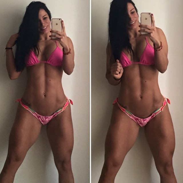 Ana Cozar is model and fitness instructor.
