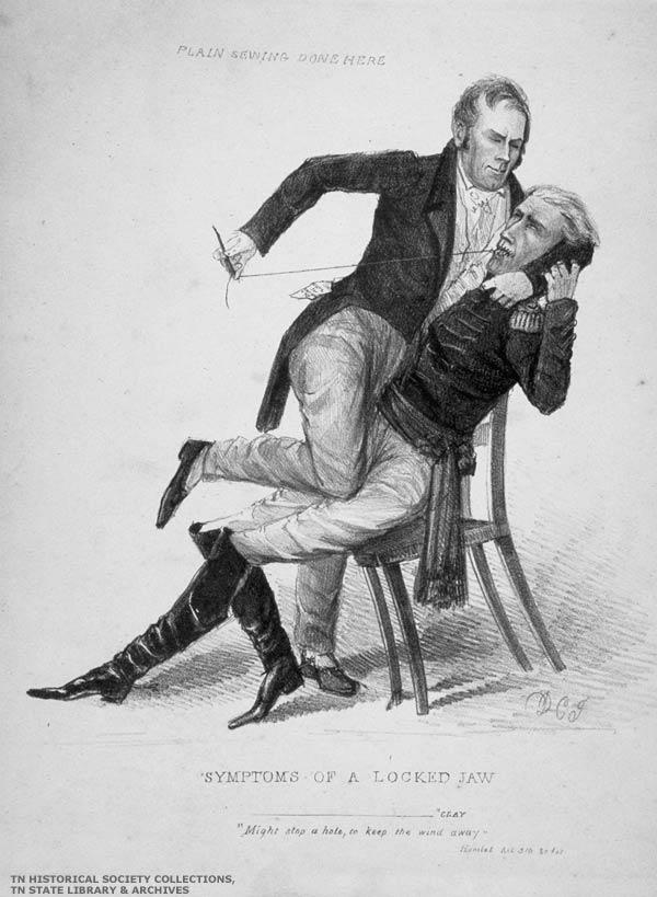 the public i 1828 politics as usual