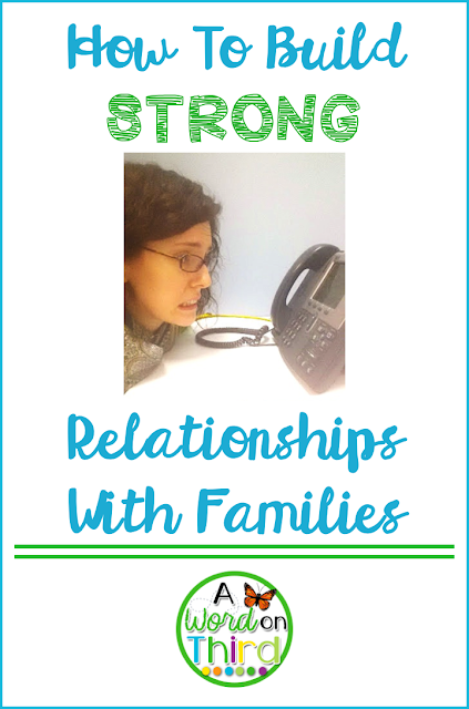 How To Build Strong Relationships With Families: A Word On Third