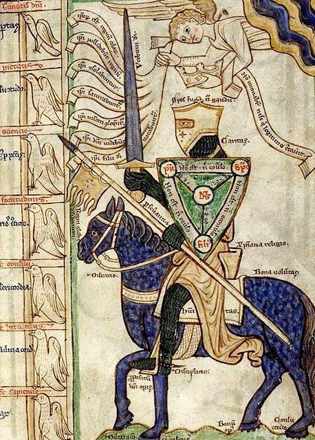 O cavaleiro andante e as virtudes que deve praticar.
