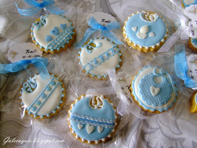 Galletas decoradas baberos