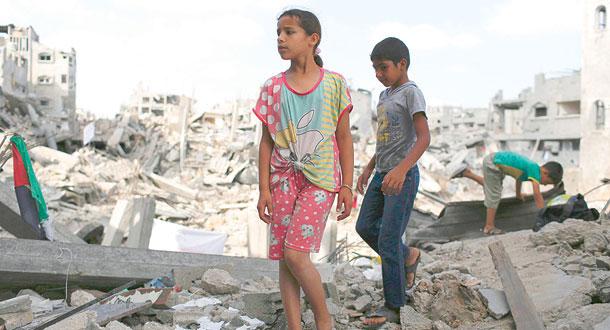 اثر الحروب في حياة الأطفال