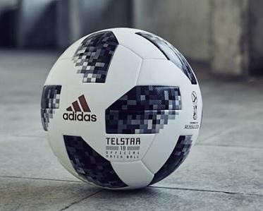 "Telstar 18"" - a bola oficial da Copa do Mundial de 2018 contém borracha  ecologicamente correta 6bb6b3dfb8858"