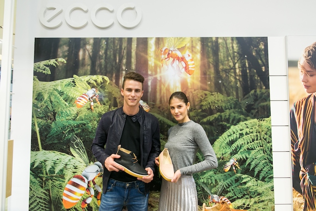 Models showcasing ECCO's Crepetray collection – a new casual collection for Spring/Summer 2018 that combines heritage and innovation.