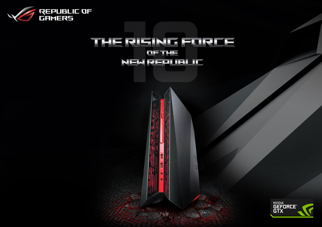 ASUS ROG G20CB with Desktop NVIDIA 10 Series now in PH