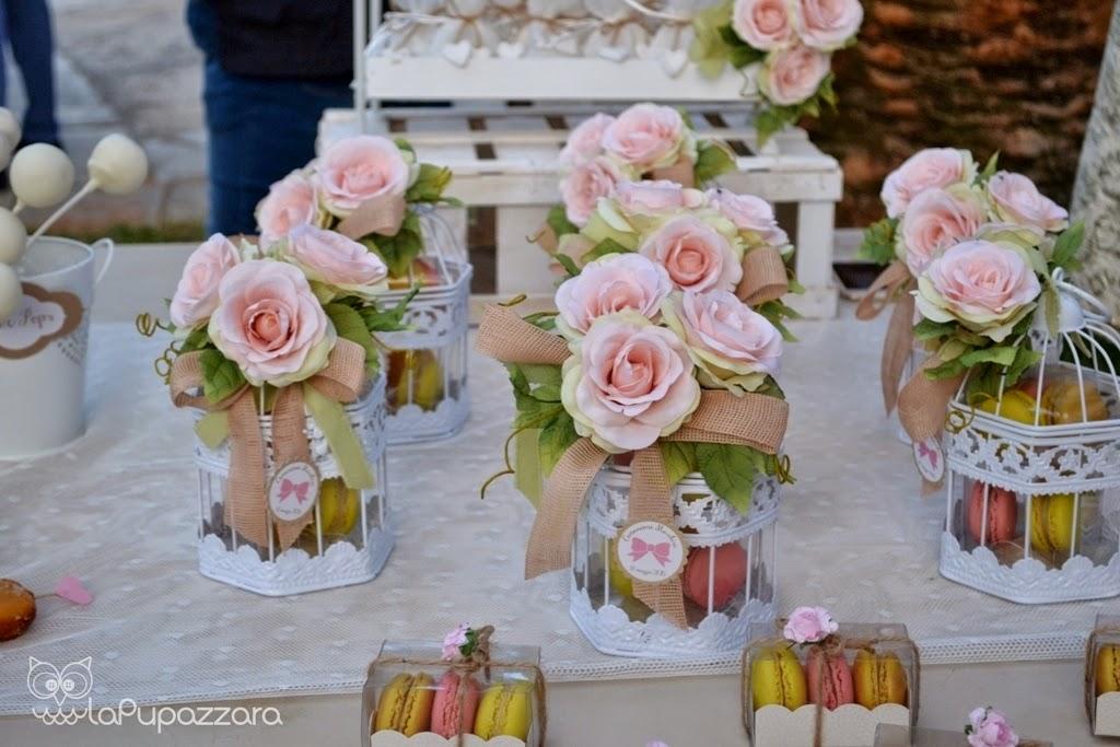 Conosciuto La Pupazzara: Allestimento Comunione a tema Rosa, Bianco e Color  DN88