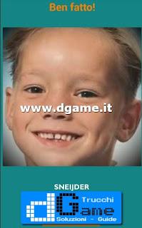 Soluzioni Guess the child footballer livello 40