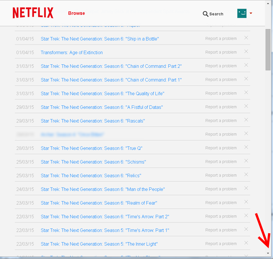 Analyzing Your Netflix Usage