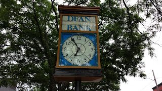 clock at Dean Bank Main St