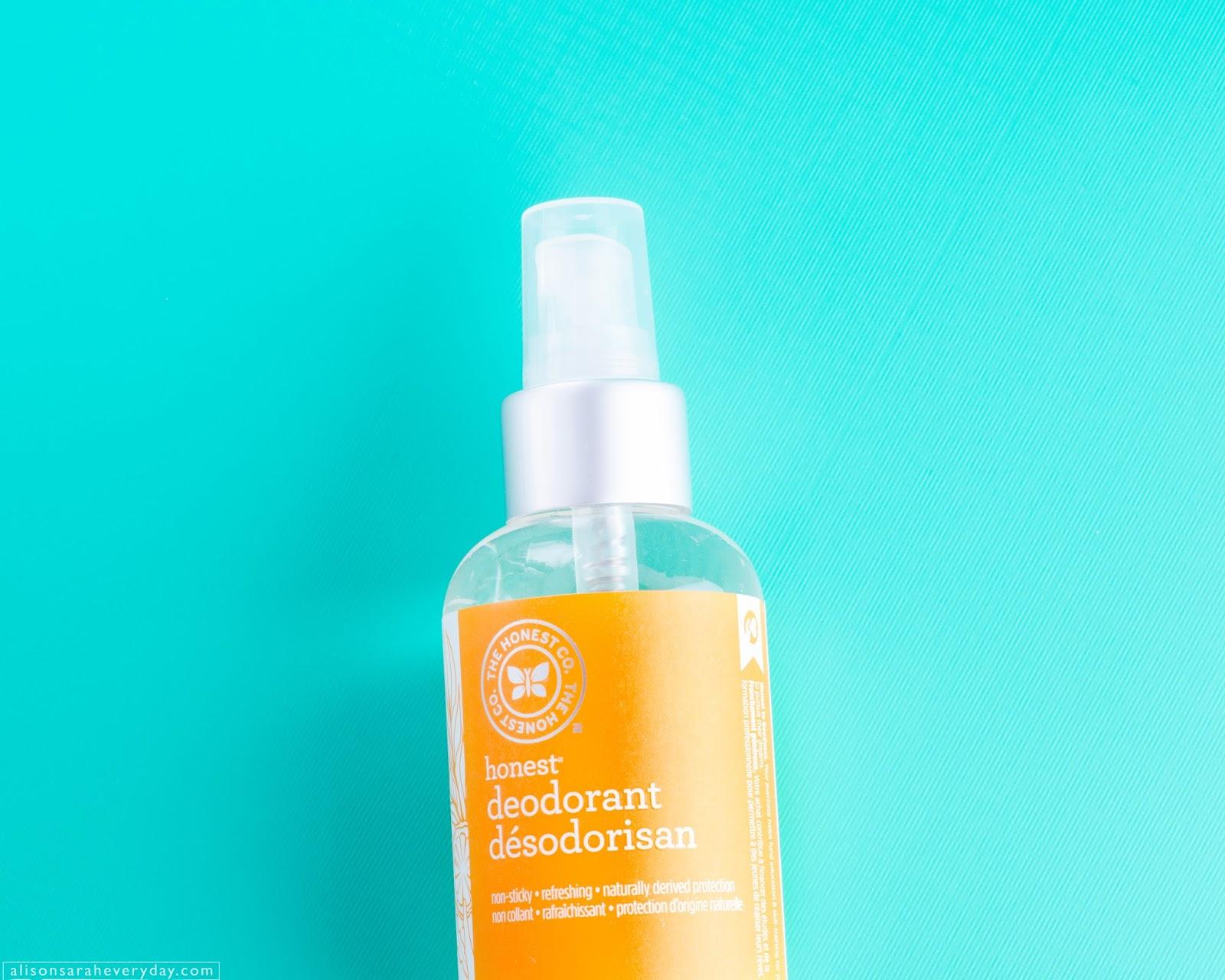 The Honest Company Honest Deodorant in Bergamot Sage Natural Deodorant