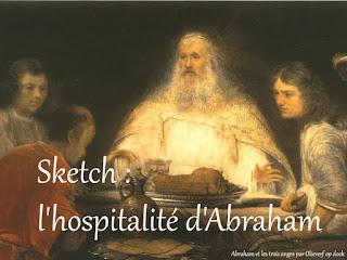 sketch abraham