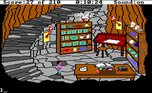 The adventure gamer game 5 kings quest iii adventure line of sight many hours of my youth were wasted in this lab trying to cast spells without the manual fandeluxe Gallery