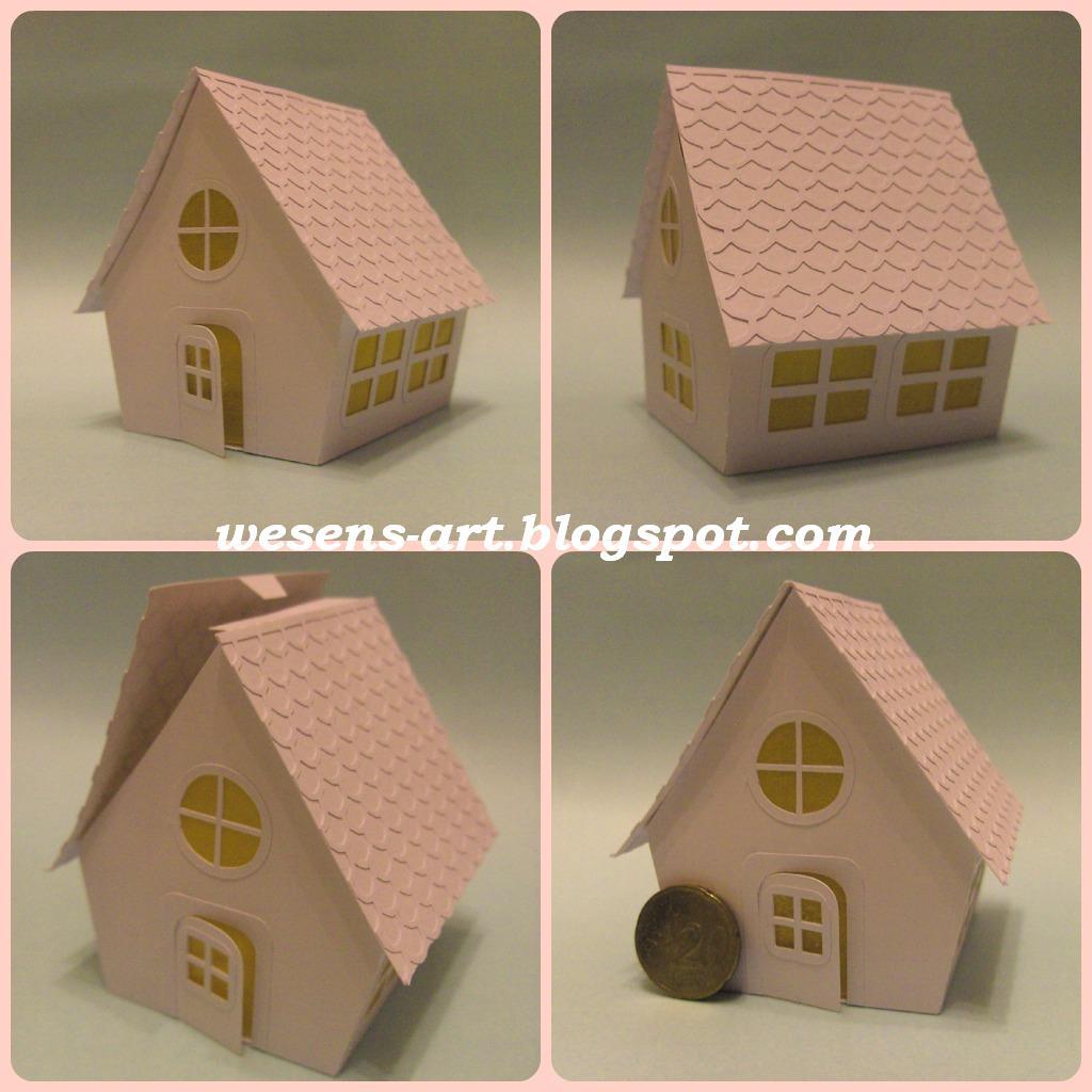 Wesens Art Papier Haus Paper House