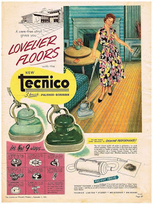 Tecnico -- A care-free stroll gives you Lovelier Floors