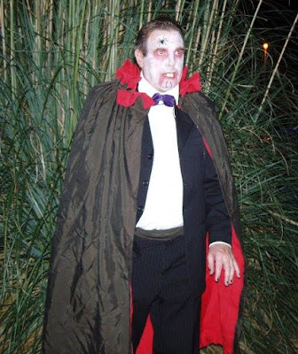 Jaymee's Dad Dressed as Dracula