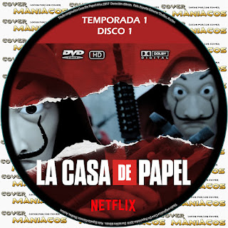GALLETA [SERIE TV] LA CASA DE PAPEL TEMPORADA 1