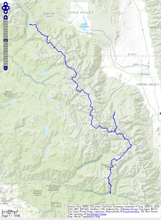 The Sierra High Route (SHR 2016)