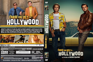 CARATULA ERASE UNA VEZ EN... HOLLYWOOD - ONCE UPON A TIME IN HOLLYWOOD - 2019