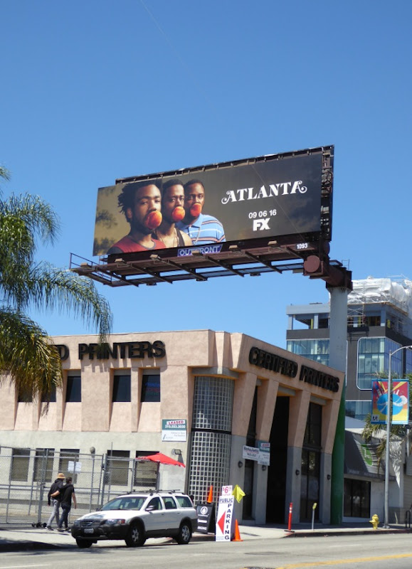 Atlanta TV series billboard