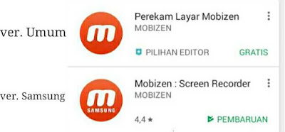 Mobizen Application Android Screenshot Non Root