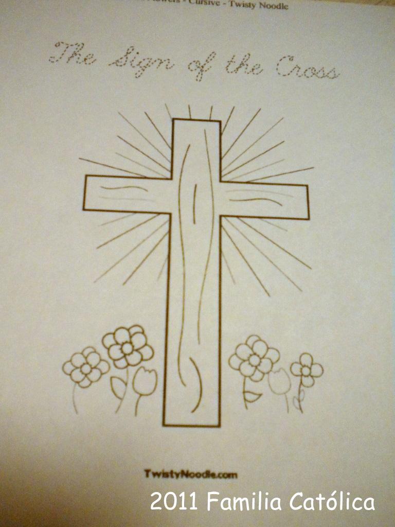 Familia Católica Páginas Para Colorear Para El Día De La