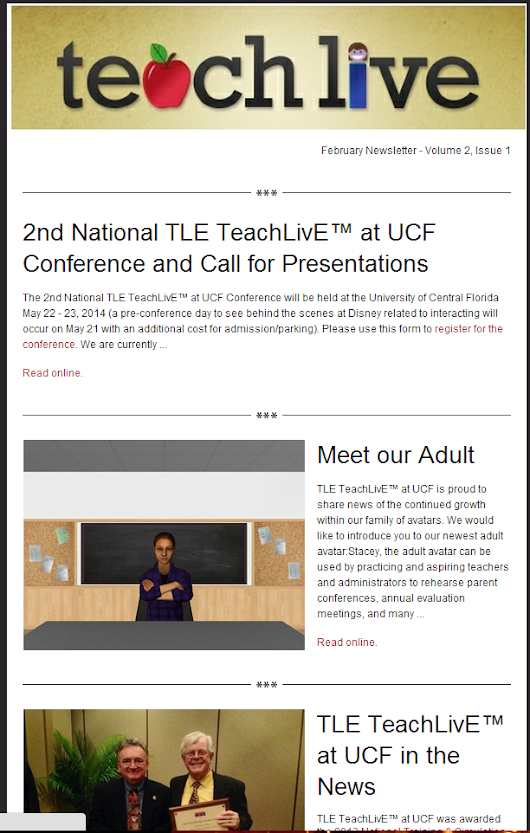 Latest News at TeachLivE ucf