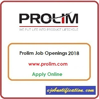 Software Engineer Openings at Prolim Jobs in Bangalore Apply Online 2018