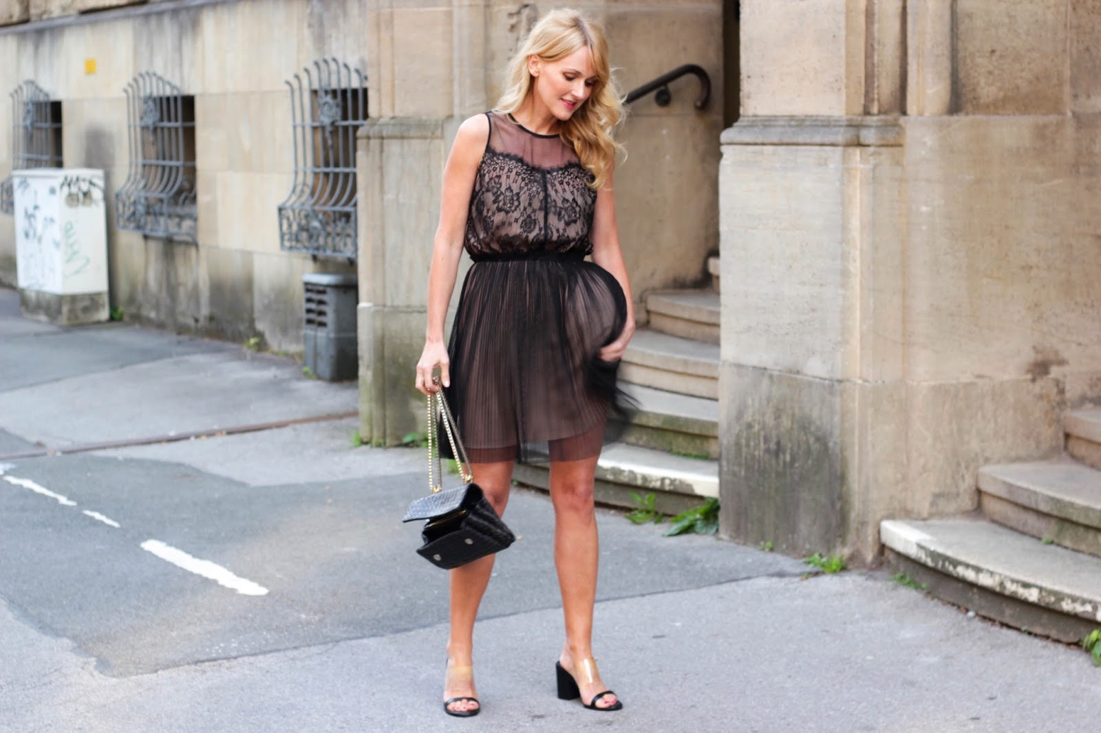 Kleid, Zalando Morgan Mango Heels