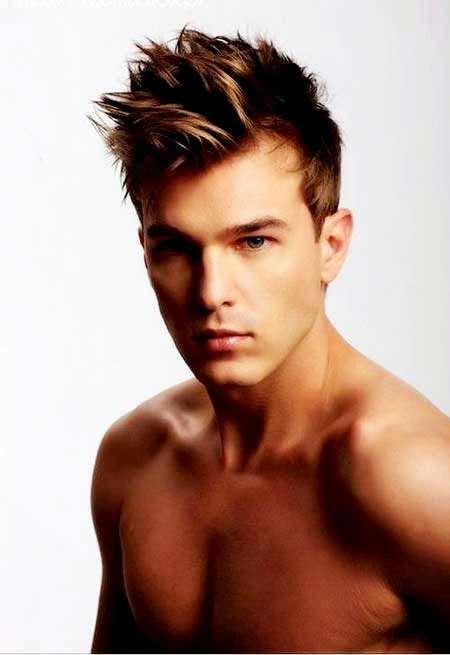 Spiky Hairstyles For Men 2014 Mens Hairstyles Womans