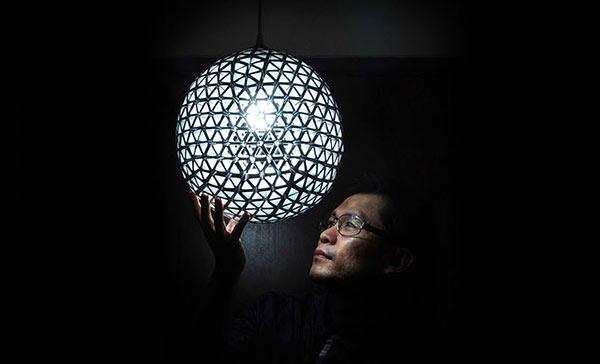 DIY Recycled TetraBox Lamp