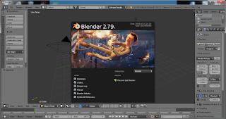 Screenshot 1 :  Blender