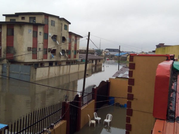 Lagos Mainland Flooded morning of LG Elections