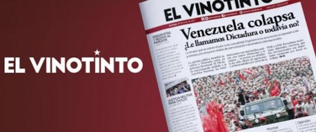 El Vinotinto, un periódico de la diáspora venezolana en Chile.
