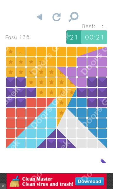 Cheats, Walkthrough for Blocks and Shapes Level 138