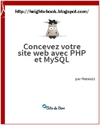 Télécharger Livre Gratuit Concevez votre site web avec php et mysql pdf