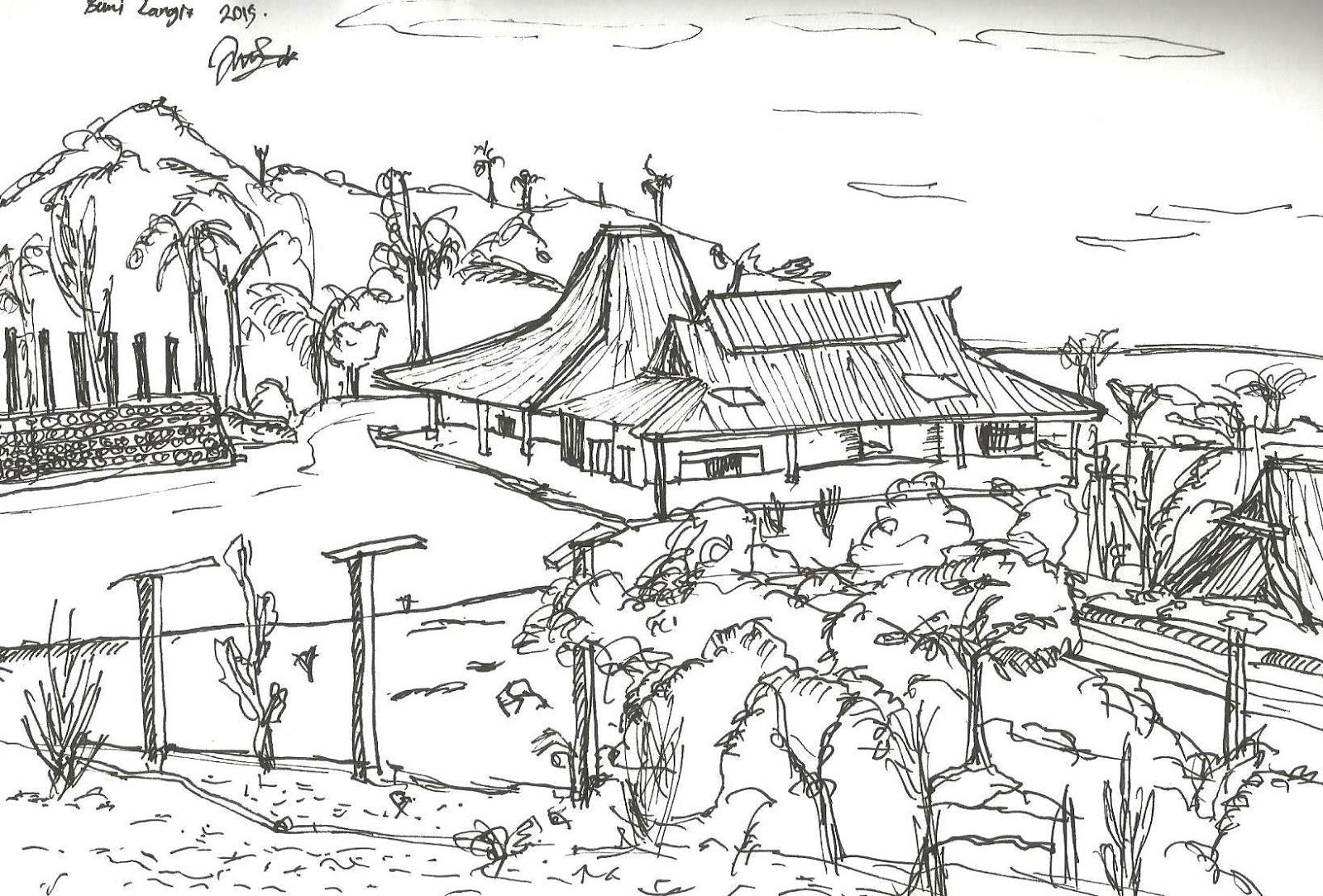 Re Write And Re Sketch Tanah Airku Dalam Pelukan