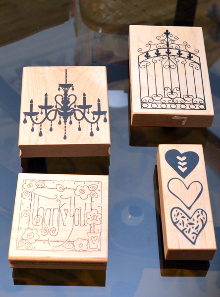 Stamping on Salt Dough~anartfulmom.com