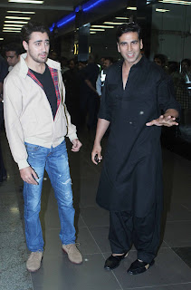 Akshay, Sonakshi, Imran Return From Dubai after promotion of their movie