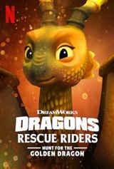 Imagem Dragões: Equipe de Resgate - Em Busca do Dragão Dourado - Dublado
